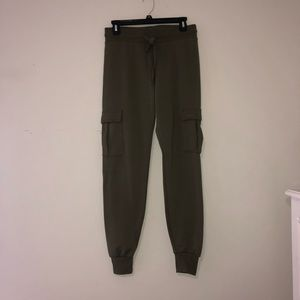 NWOT Army Green Joggers